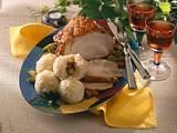 Schweinekrustenbraten mit Thüringer Kartoffelklößen Rezept