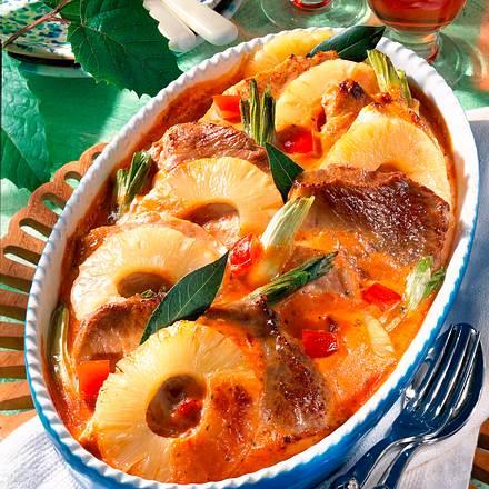 Schweineschnitzel in Tomatensahne Rezept