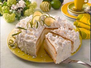 Sekt-Limetten-Torte Rezept