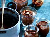 Selbst gemachter Schokoladenpudding Rezept