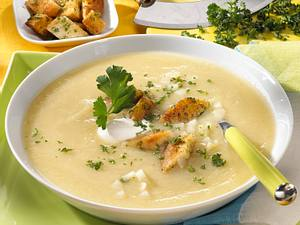 Sellerie-Creme-Suppe Rezept