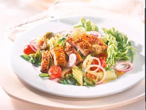 Selleriesalat mit Pfeffer-Makrele Rezept