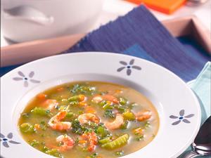 Selleriesuppe mit Krabben Rezept