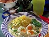 Senfeier mit Kartoffelpüree Rezept