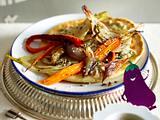 Shawarma mit Röstgemüse Rezept
