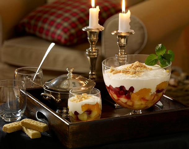 Shortbread-Trifle Rezept