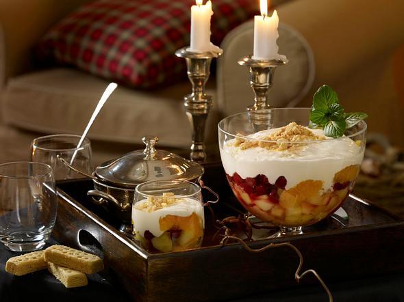 Shortbread-Trifle mit Whisky Rezept