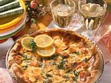 Shrimps-Quiche Rezept