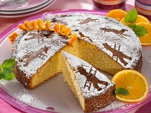 Silvester-Kuchen mit Glücksbringer Rezept