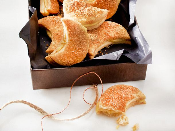 Snickerdoodle-Halbmonde mit Cashewcreme Rezept