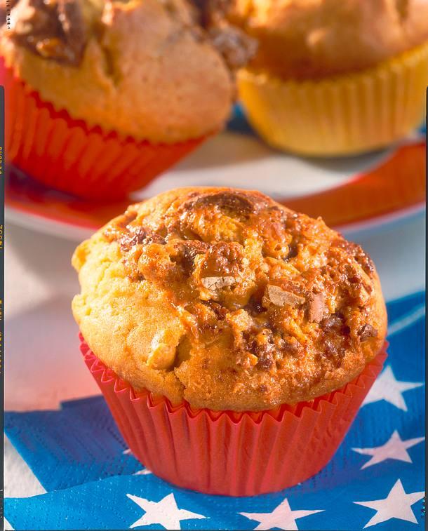 snickers muffins rezept lecker. Black Bedroom Furniture Sets. Home Design Ideas