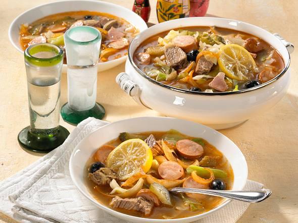 Soljanka mit Fleisch Rezept