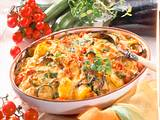 Sommerlicher Kartoffel-Gemüse-Auflauf Rezept
