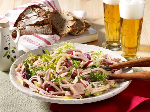 Sommerlicher Wurstsalat Rezept