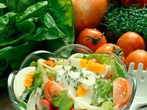 Sommersalat mit Kressesoße Rezept