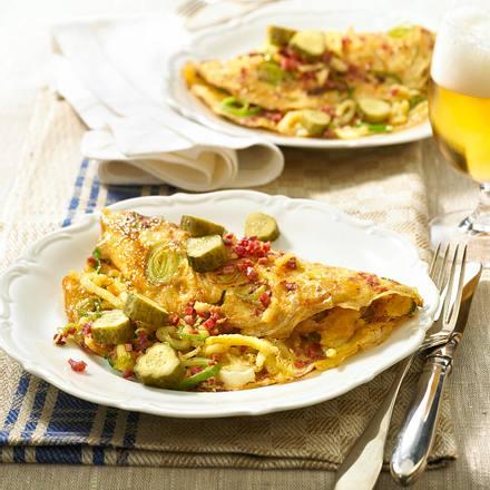 Spätzle-Bauernfrühstück Rezept