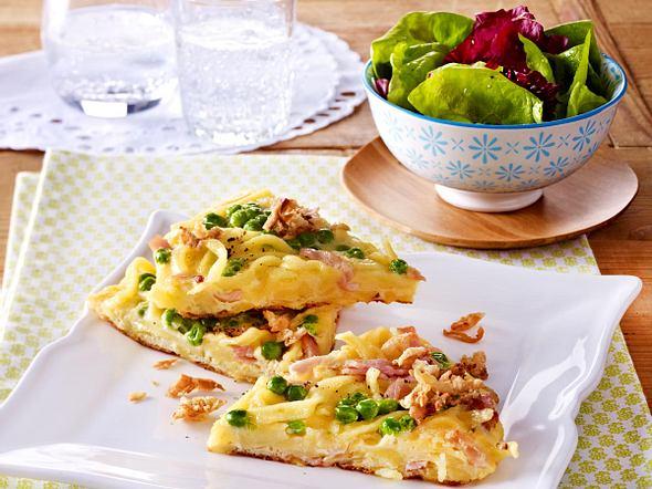 Spätzle-Schinken-Omelett Rezept