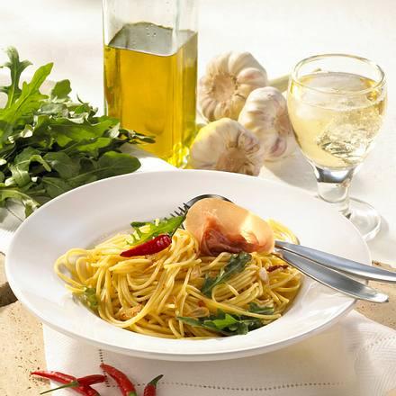 Spaghetti aglio e olio Rezept