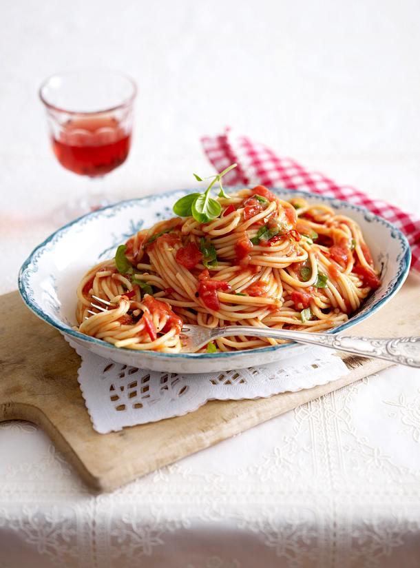 Spaghetti all'arrabbiata Rezept