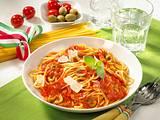 Spaghetti all Arrabiata Rezept