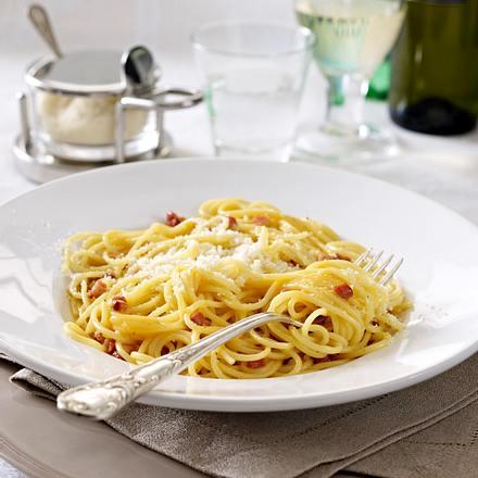 Spaghetti alla Carbonara (Spaghetti nach Art der Köhler) Rezept