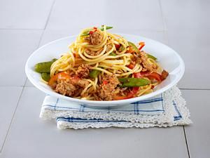 Spaghetti Bolognese Asia Art Rezept