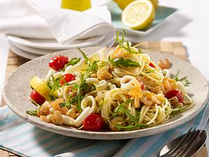 Spaghetti Frutti di Mare Rezept