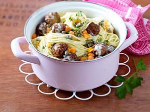 Spaghetti à la Königsberg Rezept