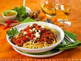 Spaghetti mit Orient-Bolognese Rezept