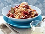 Spaghetti mit Rote-Bete-Bolognese Rezept