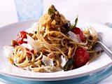 Spaghetti mit Salbei-Nussbutter Rezept