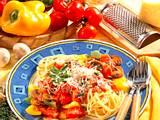 Spaghetti mit Soße Rezept