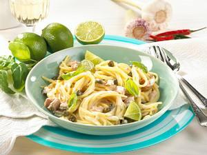 Spaghetti mit Thunfischsoße Rezept