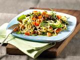 Spaghetti mit Tomaten und Oliven Rezept