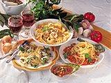 Spaghetti mit Tomaten-Zucchini-Sugo Rezept