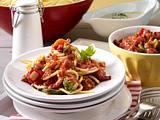 Spaghetti mit zweierlei Soßen Rezept