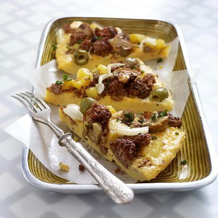 Spanische Kartoffel-Hack-Tortilla Rezept