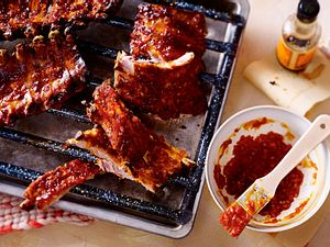 Spareribs mit BBQ-Soße Rezept