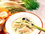 Spargel-Cremesuppe grün-weiß Rezept