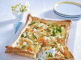 Spargel-Gemüse-Tarte Rezept