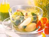 Spargel-Kartoffelsalat mit Brunnenkresse-Pesto Rezept