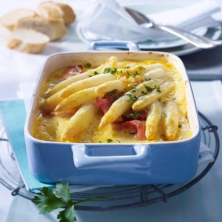 Spargel-Lasagne mit Ei-Hollandaise Rezept