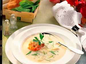 Spargelcreme-Suppe Rezept