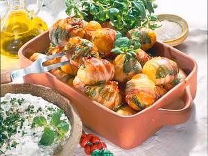 Speck-Majoran-Kartoffeln Rezept