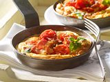 Speck-Omelett mit Tomaten Rezept