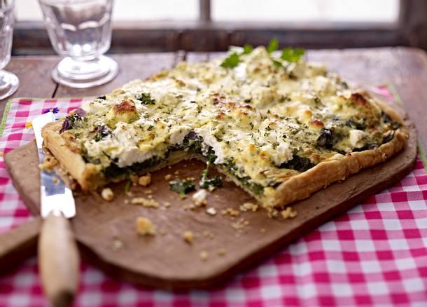 Spinat-Ricotta-Kuchen Rezept