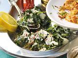 Spinatsalat mit Joghurt Rezept