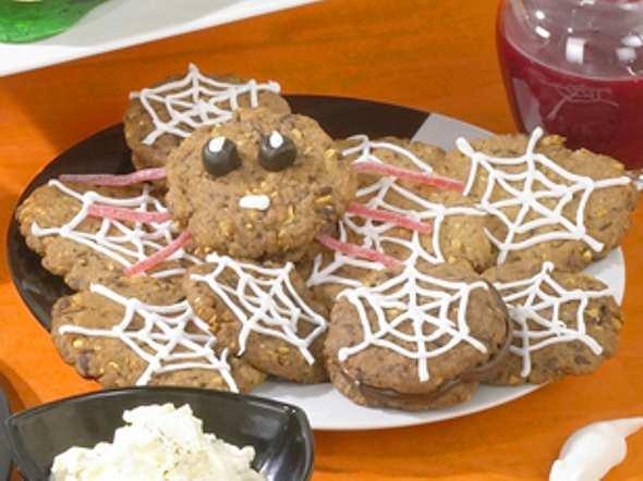 Spinnen-Cookies Rezept