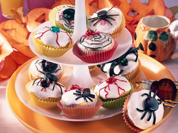Spinnenmuffins Rezept