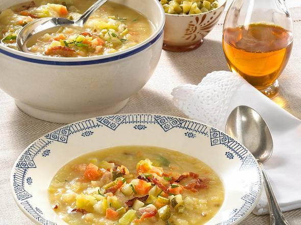 Spreewälder Kartoffelsuppe Rezept